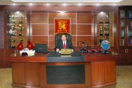 Phòng làm việc của Tổng Giám đốc Cao Kim Trọng