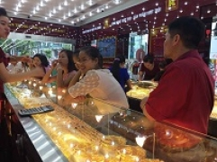 Thông tin thị trường vàng sáng 26.7.2017: Vàng giảm giá