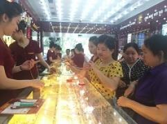 Thông tin thị trường vàng sáng 19.6.2018: Giá vàng trong nước tăng nhẹ