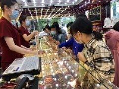 Bản tin thị trường vàng sáng 11/10: Đầu tuần vàng SJC neo sát mức 58 triệu/lượng
