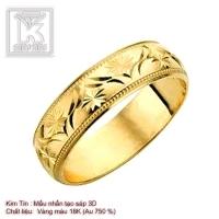Nhẫn nữ 3D