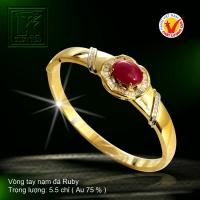 Vòng tay nạm Ruby