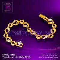 Lắc tay Korea vàng 18K