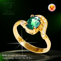 Nhẫn nữ vàng màu 18K
