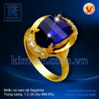 Nhẫn nữ nạm đá Sapphire