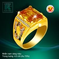 Nhẫn nam vàng 18k