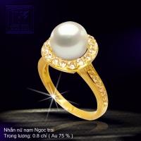 Nhẫn nữ nạm Ngọc trai