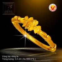 Vòng tay vàng 24K