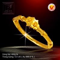 Vòng tay vàng 24 K