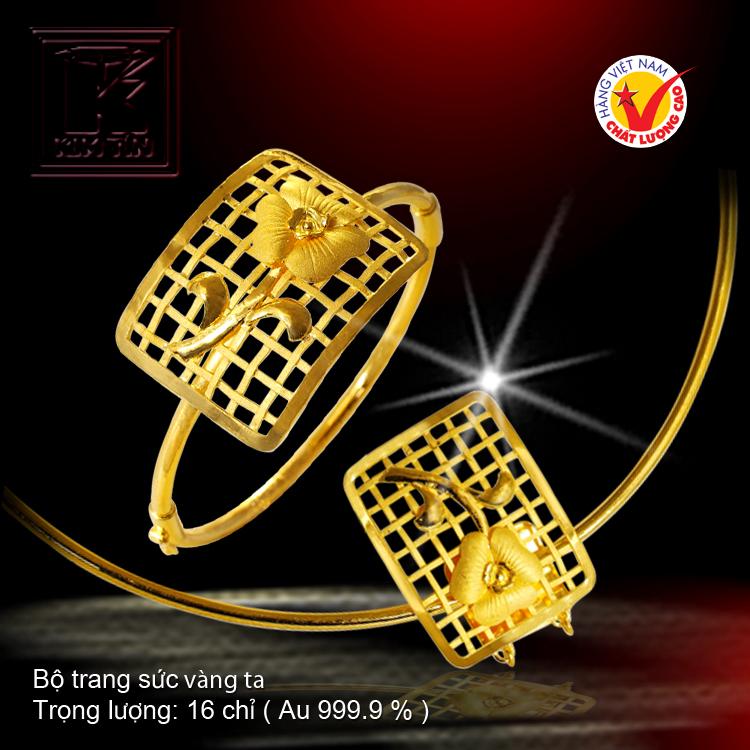 Bộ trang sức vàng 24 K
